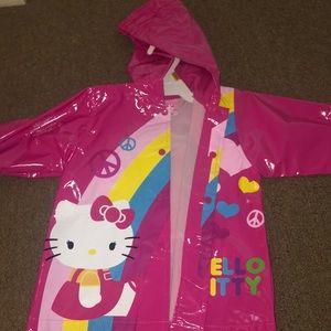 Hello kitty rain jacket